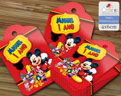 Tag - Casa do Mickey (modelo 2)