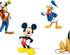 Aplique para Tubete Personagens Mickey