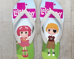 Chinelo Lalaloopsy Infantil Patch