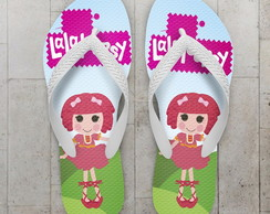 Chinelo Lalaloopsy Infantil Crumbs