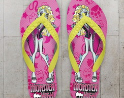 Chinelo Monster High Infantil Lagoona