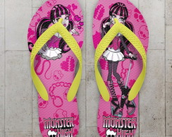 Chinelo Monster High Draculaura Infantil