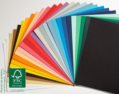 Papel color plus180g Scrapbook 30,5x30,5
