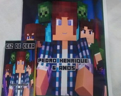 Kit de colorir Minecraft