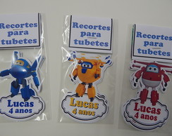 recortes para tubo pet super winks