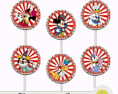 TOPPER PARA DOCE CIRCO DO MICKEY II
