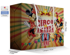 Caixa Surpresa Peq. - Circo do Mickey