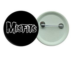 Botton 3,5 - Misfits Butons Punk Rock