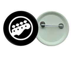 Botton 3,5 - Butons Rock Baixo Guitarra