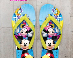 Chinelo Infantil Casa do Mickey