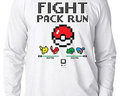 CAMISETA LONGA - FIGHT PACK RUN