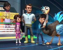 Painel Miles From Tomorrowland 1x1m