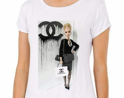 Camiseta Barbie Chanel