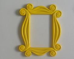 Moldura Amarela Iii Grande 20 X 30 Cm No Elo7 Cores E Resinas
