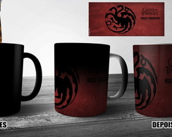 Caneca Mágica Game of Thrones -Targaryen