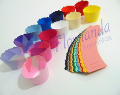 Wrapper Saia Mini Cupcake 12unidades