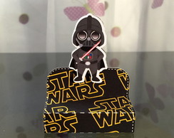 Caixa chocolate duplo Darth Vader