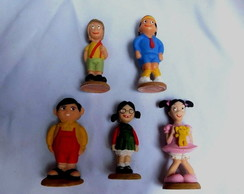 Turma Do Chaves 5 Bonecos