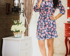 Robe floral estampado Bridesmaid