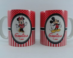 Caneca Minnie e Mickey