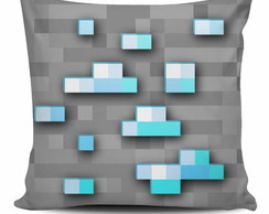 Almofada Minecraft - Diamond Ore