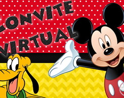 Convite Virtual Mickey