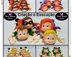 PORTA DOCE TURMA DO SCOOBY DOO