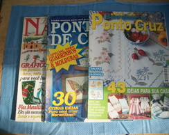 Kit Revista Ponto Cruz