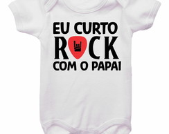 Body Eu curto Rock com o Papai