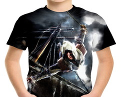 Camiseta Infantil Assassin's creed black