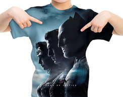 Camiseta Infantil Batman vs Superman