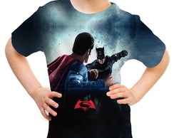 Camiseta Infantil Batman vs Superman 02
