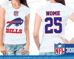 Baby Look Buffalo Bills NFL Futebol