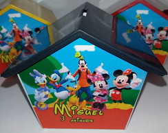 Casinha Cofre Turma do Mickey