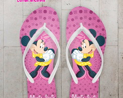Chinelo Festa Infantil Mickey, Minnie