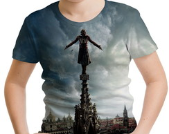 Camiseta Infantil Assassin's creed 02