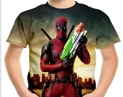 Camiseta Infantil DeadPool 02
