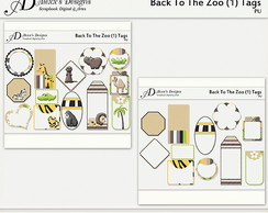 Kit Digital Back To The Zoo (1) Tags