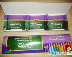 Kit 3 Mini Talentos Dia dos Professores