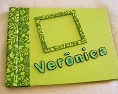 Álbum Book Verde Floral
