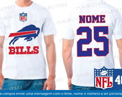 Camiseta Buffalo Bills NFL Futebol Time