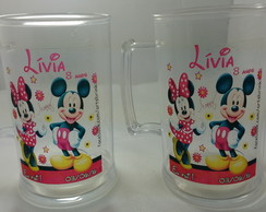 Canecas Mickey e Minnie