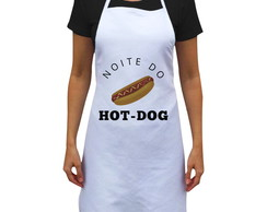 Avental Personalizado Noite do Hot-Dog