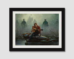 The Last Of Us Quadro lou Game Filme Serie Decoracao Sala