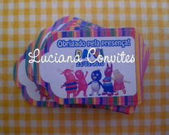 TAG 5X7CM BACKYARDIGANS