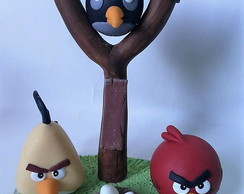 Angry birds em biscuit