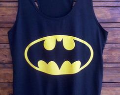 Baby Look Regata Feminina -Batman