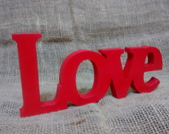 Letra decorativa - LOVE
