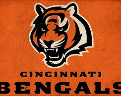 Placa Decorativa NFL Cincinnati Bengals