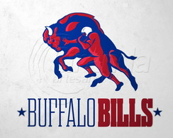 Placa Decorativa NFL - Buffalo Bills